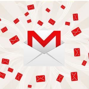Gmailたくさん